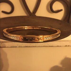 Michael Kors rose gold bangle